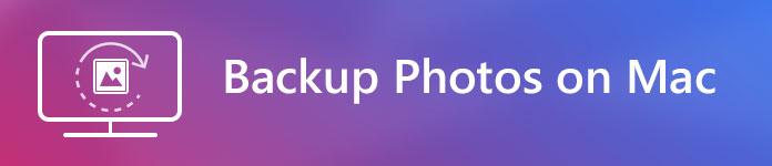 Eseguire il backup delle foto su Mac