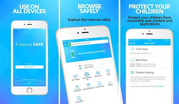 F-Secure kindveilige browser