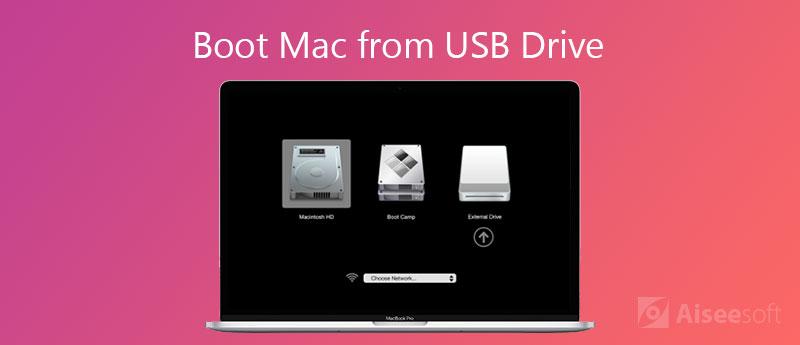 Avvia il Mac da un disco USB
