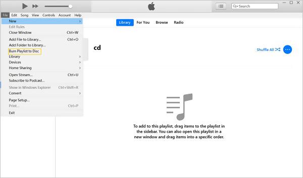 使用iTunes從Youtube刻錄CD