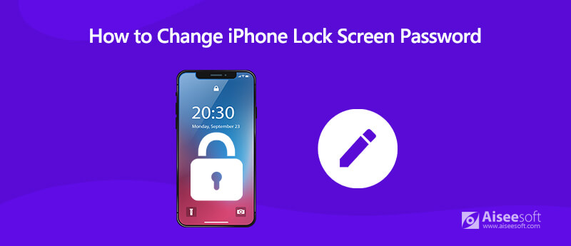Change iPhone Lock Screen Password
