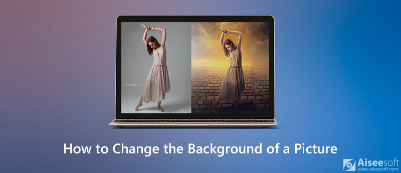 Změňte pozadí obrázku