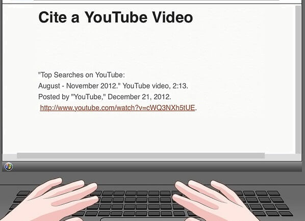 how to cite a youtube video