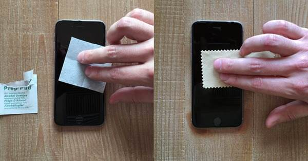 Disinfect iPhone Screen