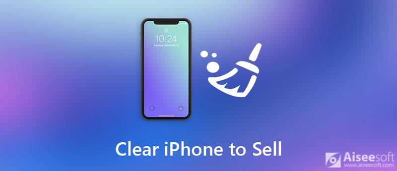 Cancella iPhone da vendere
