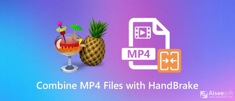 Combina file MP4 con HandBrake
