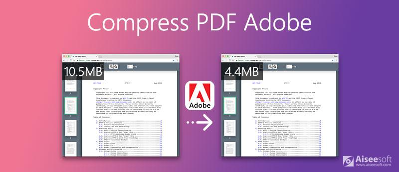 Συμπίεση PDF στο Adobe