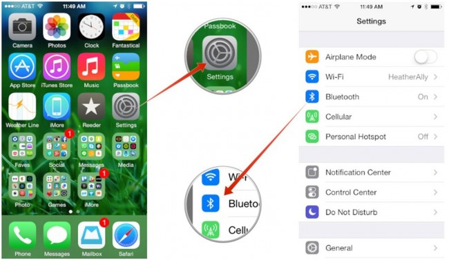 Ρυθμίσεις Bluetooth