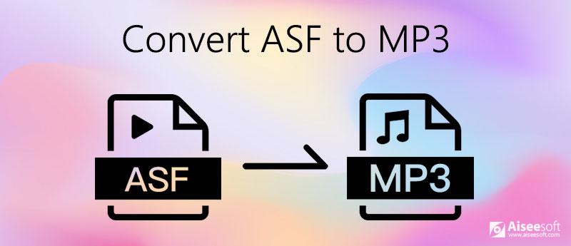Převést ASF na MP3