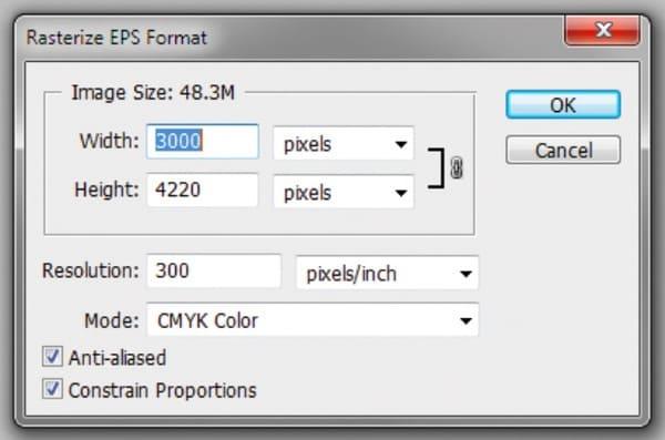 Importa il File EPS