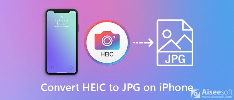 Převeďte obrázky iPhone HEIC do formátu JPG