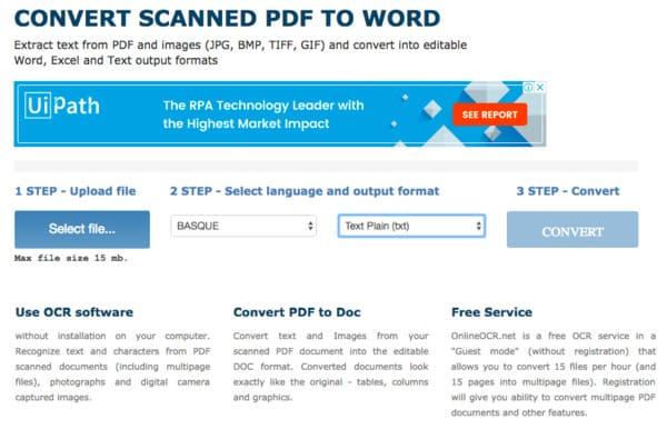 JPG to Word – Overviews of 10 Online and Offline JPG to Word