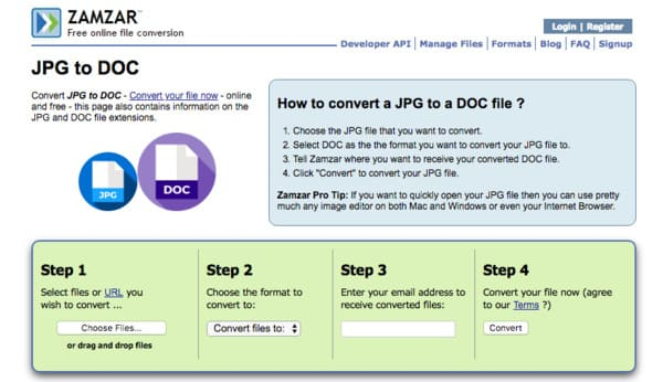 JPG to Word – Overviews of 10 Online and Offline JPG to Word Converter