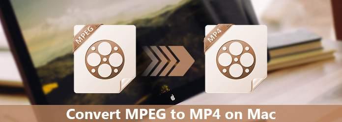 Μετατροπή MPEG σε MP4 σε Mac