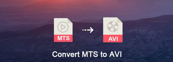 Converti MTS in AVI