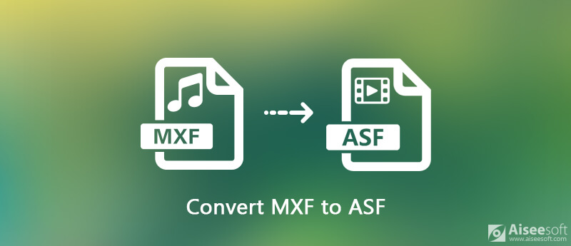 Converti video MXF in ASF