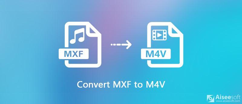 Converti file MXF in M4V