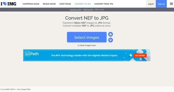 Konwertuj Nef na Jpg Online za darmo