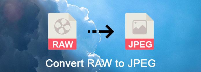 Converteer RAW naar JPEG