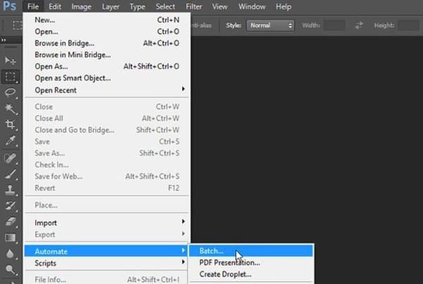 Konwertuj Tiff na JPEG Adobe Photoshop
