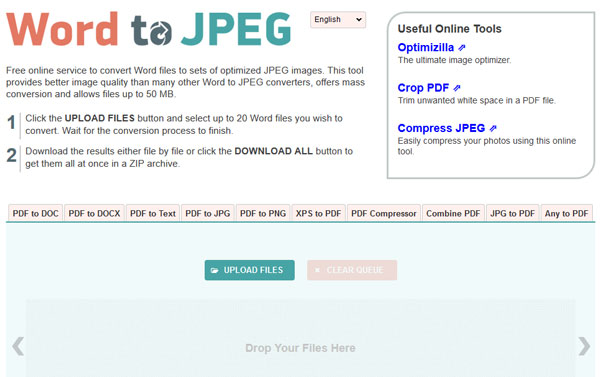 convert word into jpeg online free