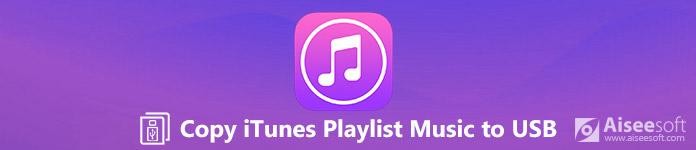 Zkopírujte seznam skladeb iTunes na USB