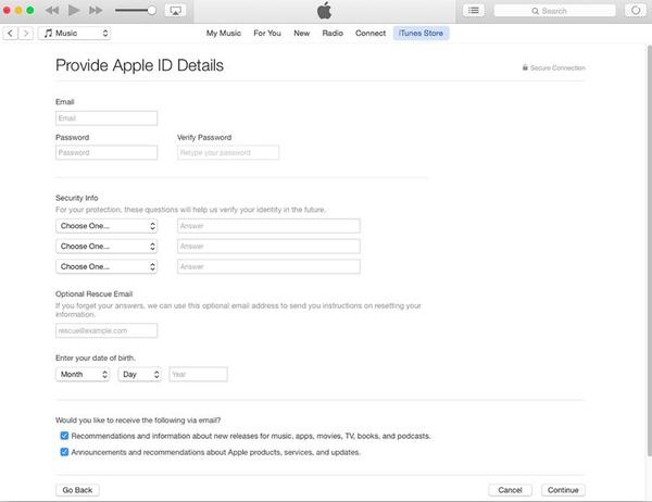 Informativa sulla privacy di Apple