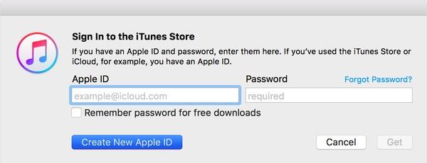 Accedi a iTunes Store