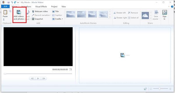 Přidat videa