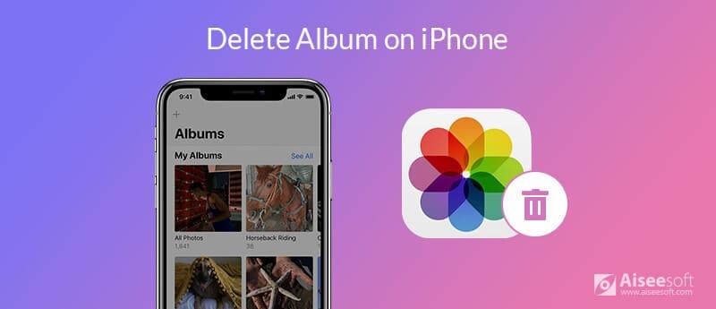 Odstraňte alba na iPhone