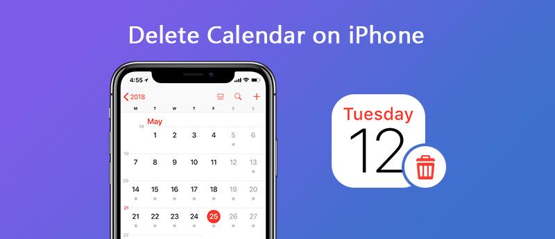 Elimina i calendari su iPhone