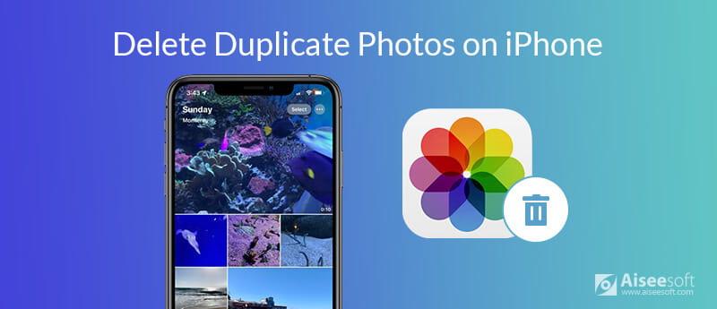 Elimina le foto duplicate su iPhone