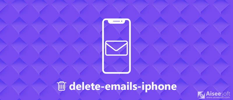 Διαγραφή μηνυμάτων ηλεκτρονικού ταχυδρομείου στο iPhone