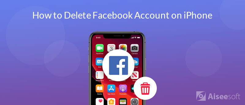 Elimina un account FaceBook su iPhone