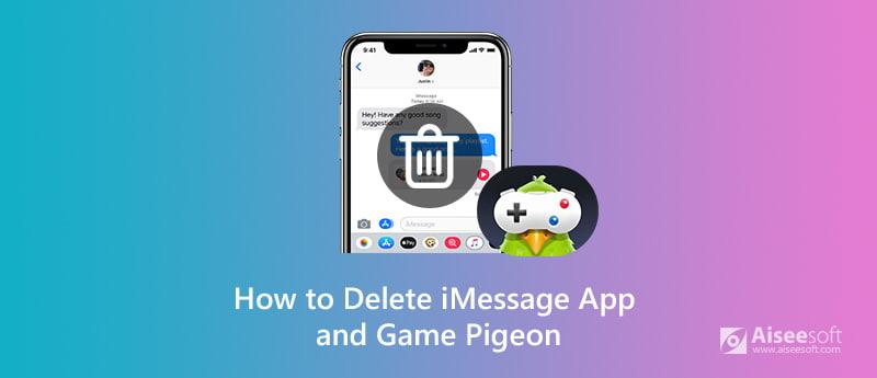 Elimina le app iMessages