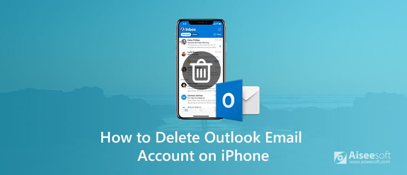 Delete Outlook Email Account on iPhone