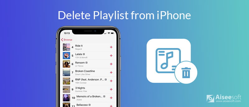 Delete Playlist from iPhone