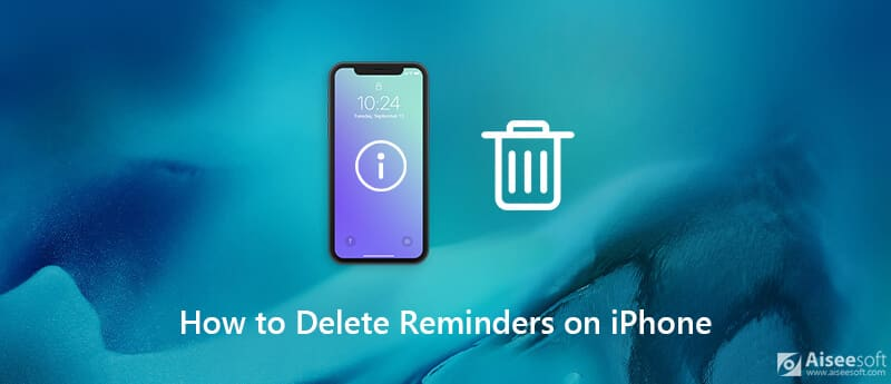 Delete Reminders On iPhone