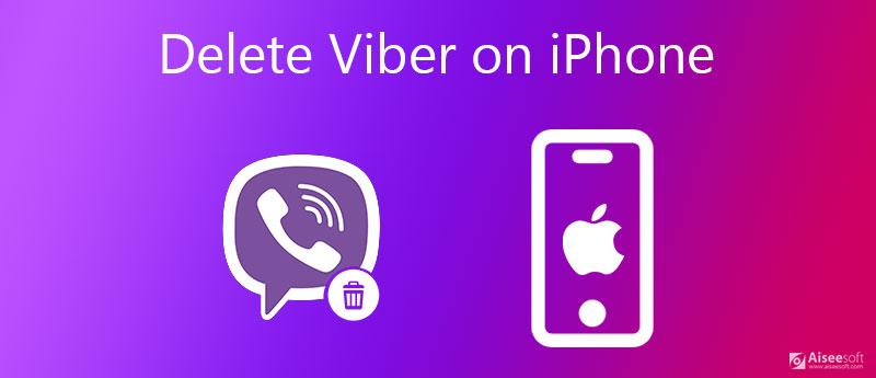 Διαγραφή λογαριασμού Viber στο iPhone