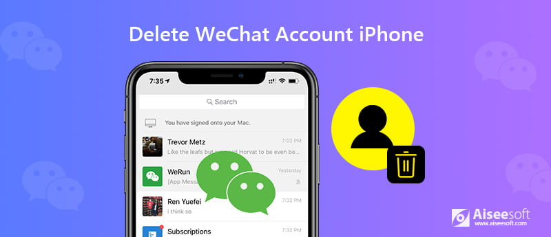 Delete Wechat Account on iPhone