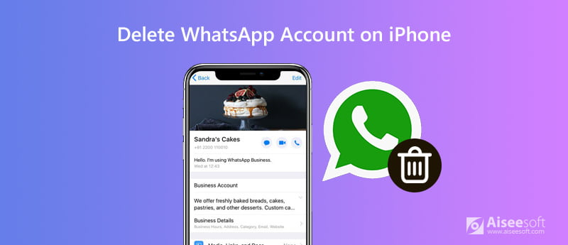 Delete WhatsApp Account on iPhone