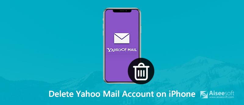 Elimina il tuo account Yahoo Mail e i dati su iPhone