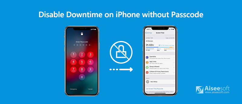 Disable Downtime on iPhone Without Passcode