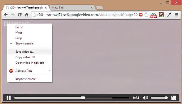 下載YouTube視頻VLC