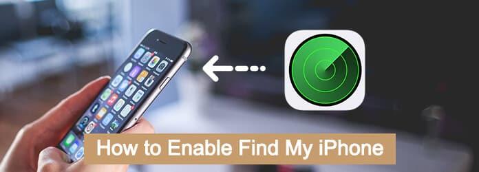 Włącz Znajdź mojego iPhone'a