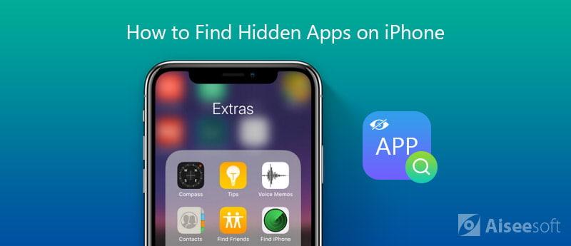 Trova app nascoste