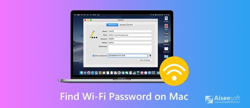 Βρείτε WIFI Password Mac