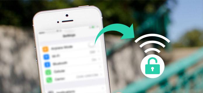 Trova la password Wi-Fi su iPhone