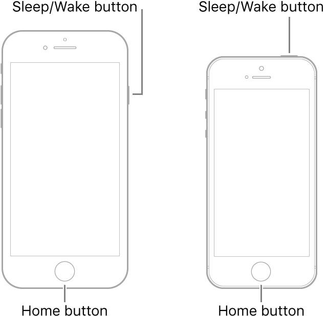 Arrêtez l'iPhone6 et les versions antérieures