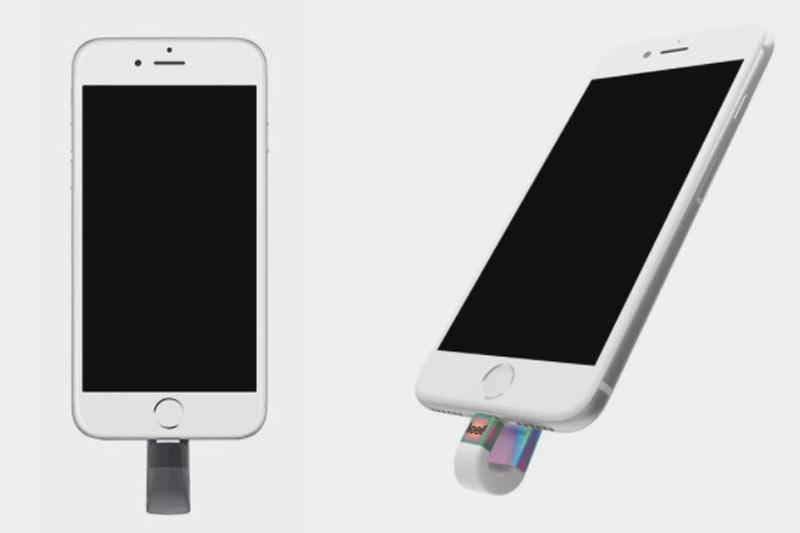通過驅動器在iPhone上獲得更多存儲空間